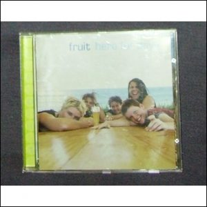 Aussie band Fruit. Here for days CD cover