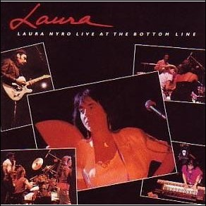 Laura Nyro, Live at the Bottom Line. 1989 CD cover