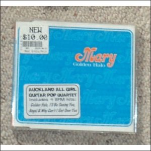 Mary, Golden Halo cover.  4 track CD from Auckland all girl guitar pop band.