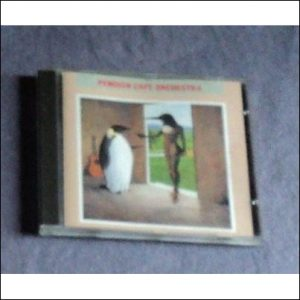 Penguin Cafe Orchestra, Penguin Cafe Orchestra. Self titled CD cover