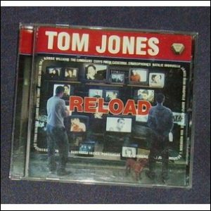 Tom Jones Reload CD cover
