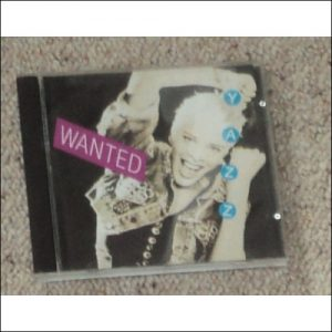 Yazz, Wanted. CD cover